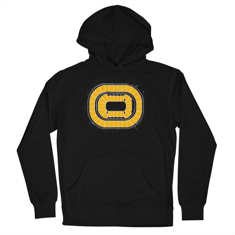 Home Ice Boston Women's French Terry Pullover Hoody by Permanent Inc.