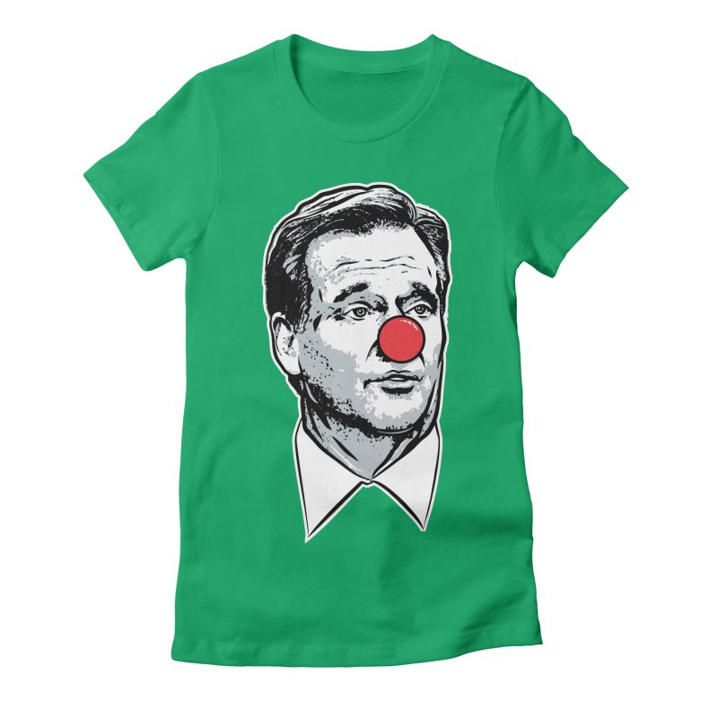 Philadelphia Clown Women's Fitted T-Shirt by Permanent Inc.