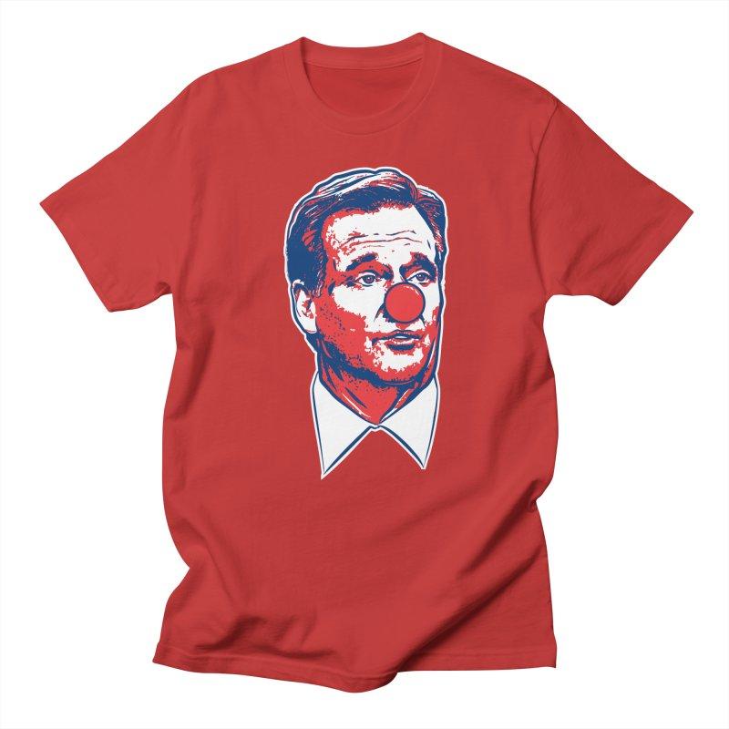 Buffalo Clown Men's Regular T-Shirt by Permanent Inc.