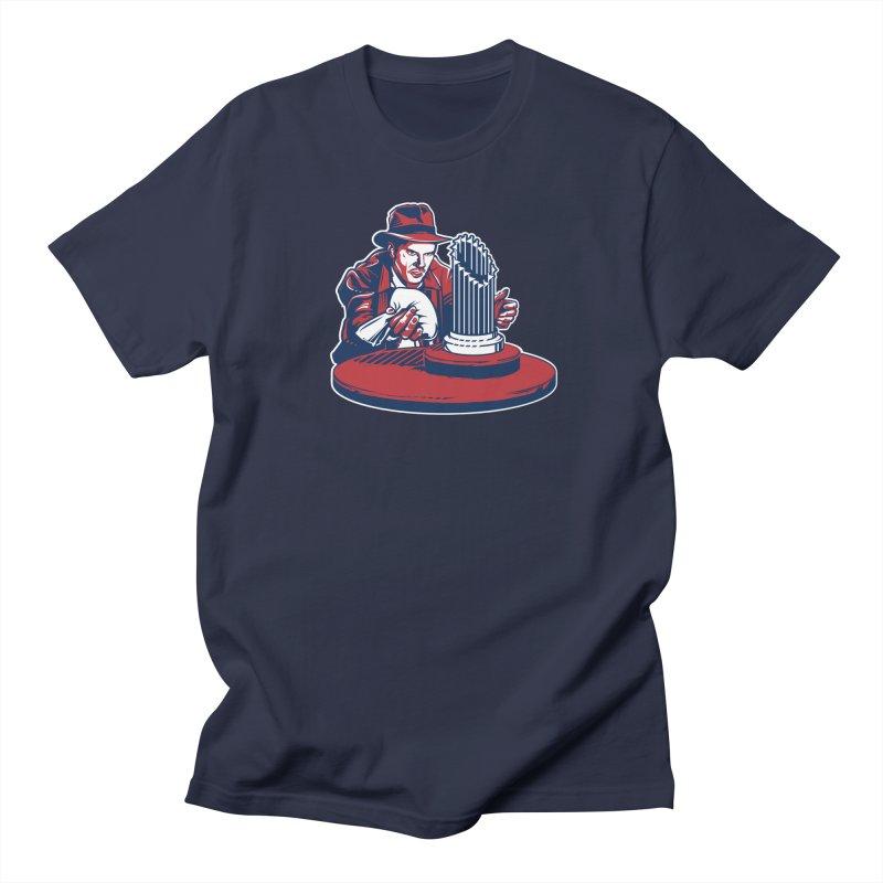 Doctor Jones Men's Regular T-Shirt by Permanent Inc.