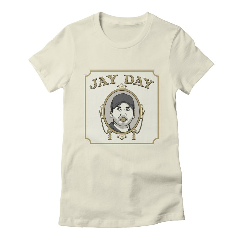 Jay Day Women's Fitted T-Shirt by Permanent Inc.