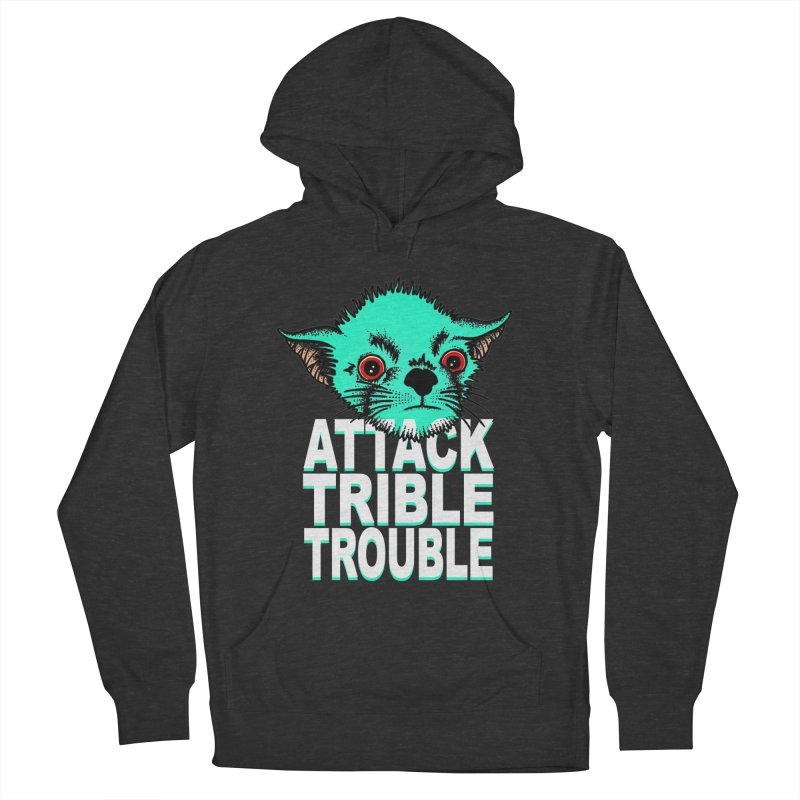 ATTACK TRIBLE TROUBLE Women's Pullover Hoody by pesst's Artist Shop