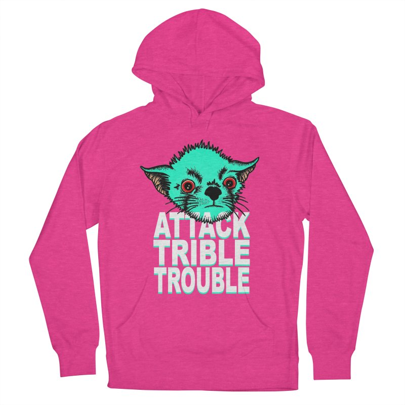 ATTACK TRIBLE TROUBLE Men's French Terry Pullover Hoody by pesst's Artist Shop