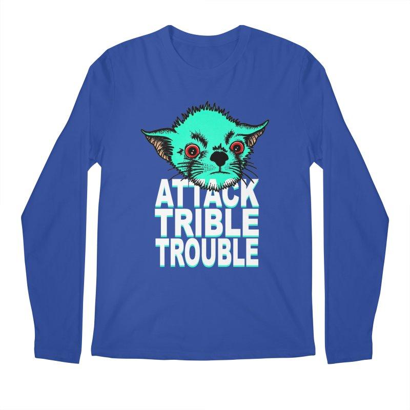 ATTACK TRIBLE TROUBLE Men's Regular Longsleeve T-Shirt by pesst's Artist Shop