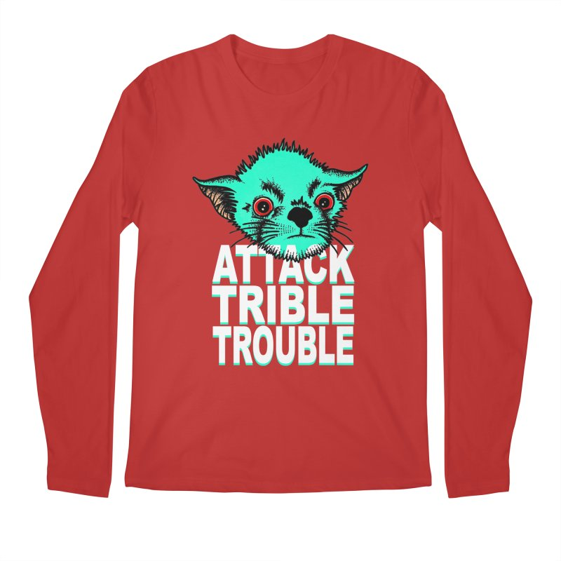 ATTACK TRIBLE TROUBLE Men's Longsleeve T-Shirt by pesst's Artist Shop