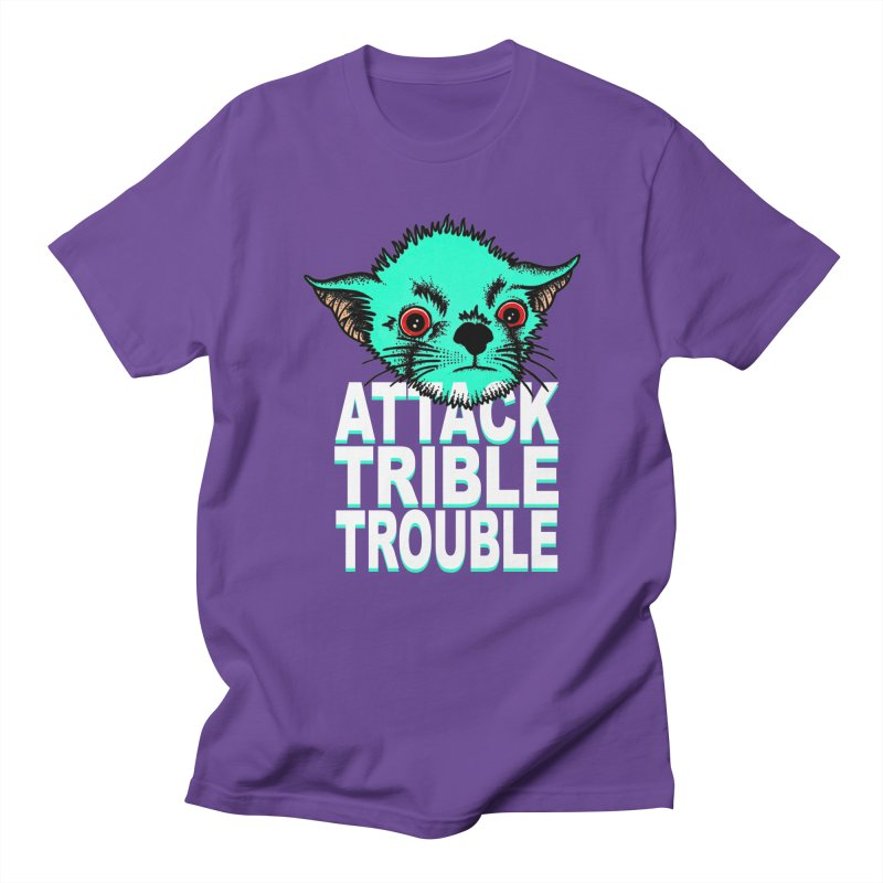 ATTACK TRIBLE TROUBLE Women's Regular Unisex T-Shirt by pesst's Artist Shop