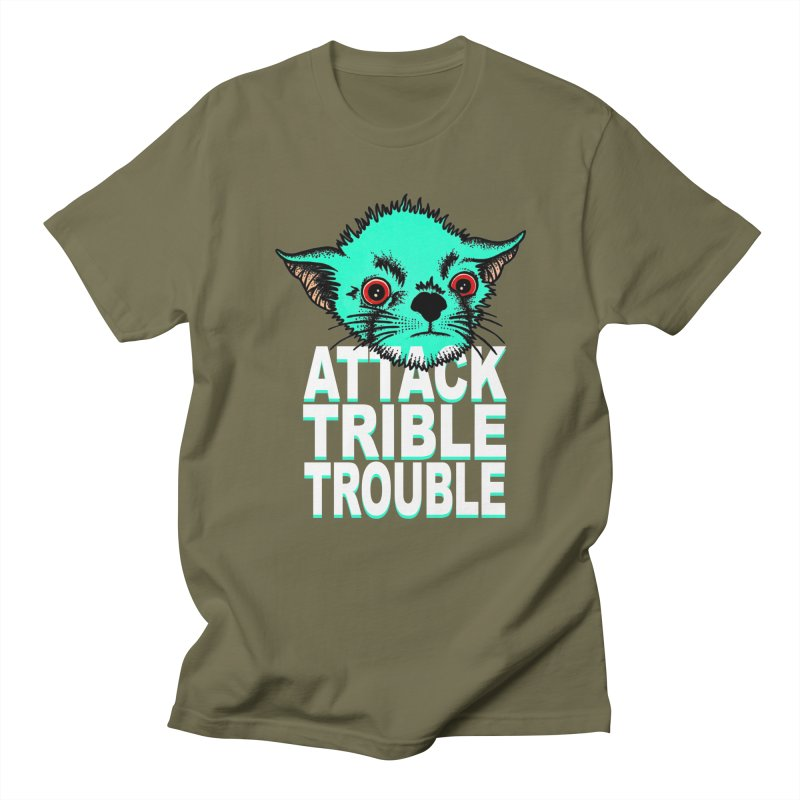 ATTACK TRIBLE TROUBLE Women's Unisex T-Shirt by pesst's Artist Shop