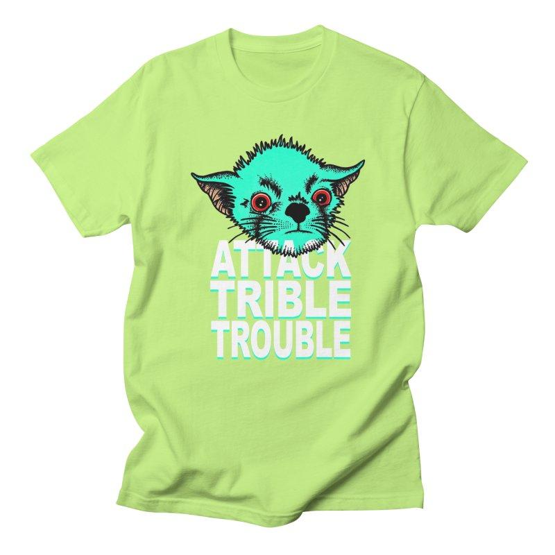 ATTACK TRIBLE TROUBLE Women's Regular Unisex T-Shirt by pesst's Artist Shop