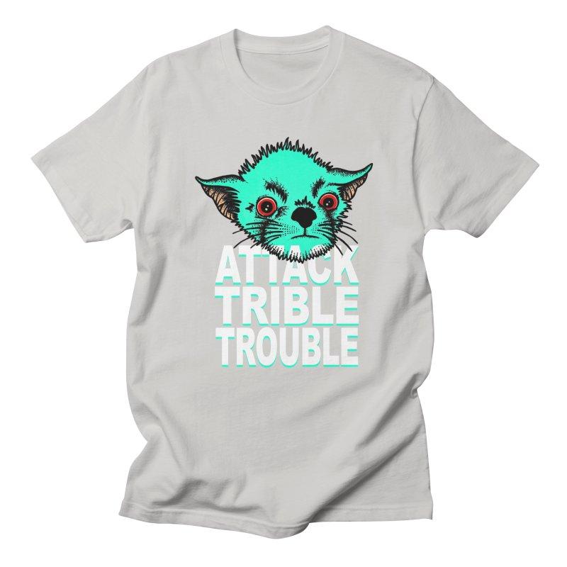 ATTACK TRIBLE TROUBLE Men's T-Shirt by pesst's Artist Shop