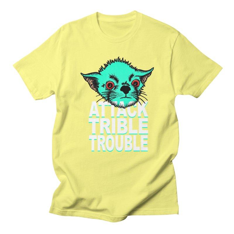 ATTACK TRIBLE TROUBLE Women's Unisex T-Shirt by pesst's Artist Shop