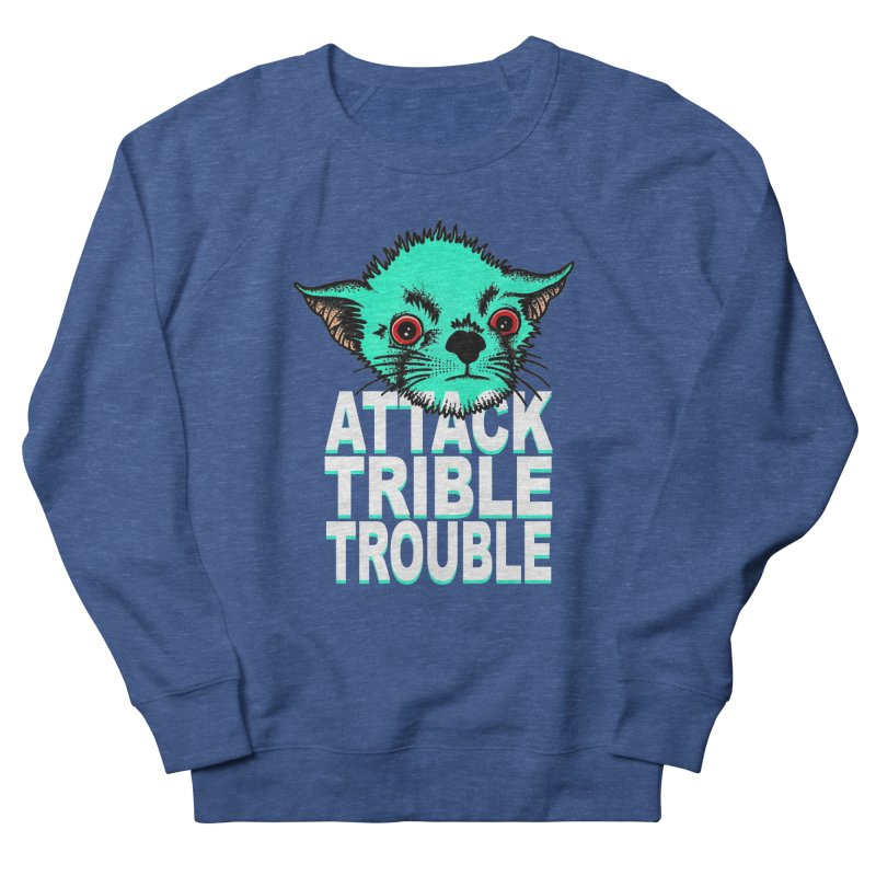 ATTACK TRIBLE TROUBLE Women's Sweatshirt by pesst's Artist Shop