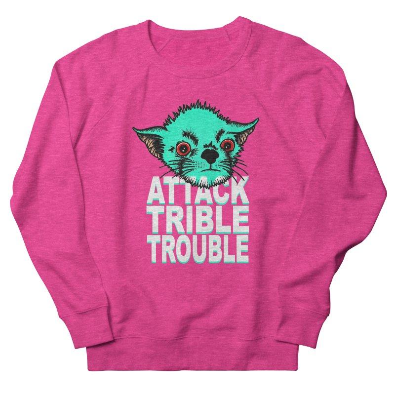 ATTACK TRIBLE TROUBLE Women's Sweatshirt by pesst's Artist Shop