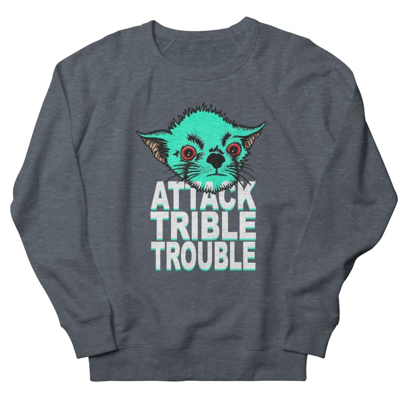ATTACK TRIBLE TROUBLE Men's Sweatshirt by pesst's Artist Shop