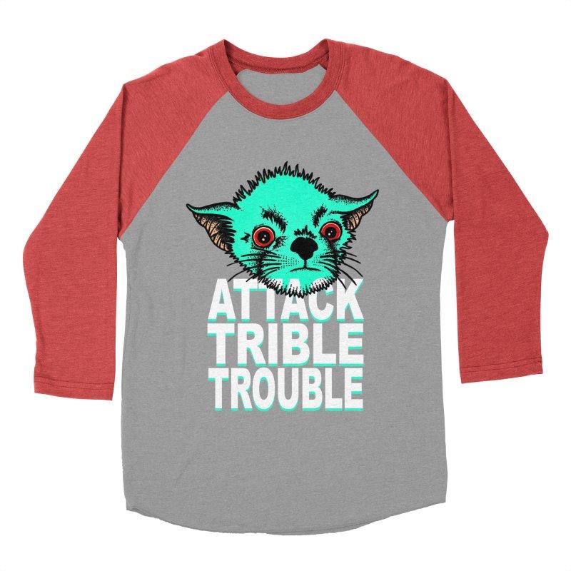 ATTACK TRIBLE TROUBLE Women's Baseball Triblend Longsleeve T-Shirt by pesst's Artist Shop