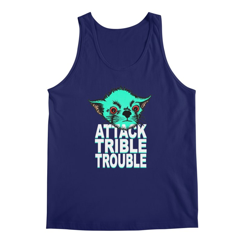 ATTACK TRIBLE TROUBLE Men's Regular Tank by pesst's Artist Shop