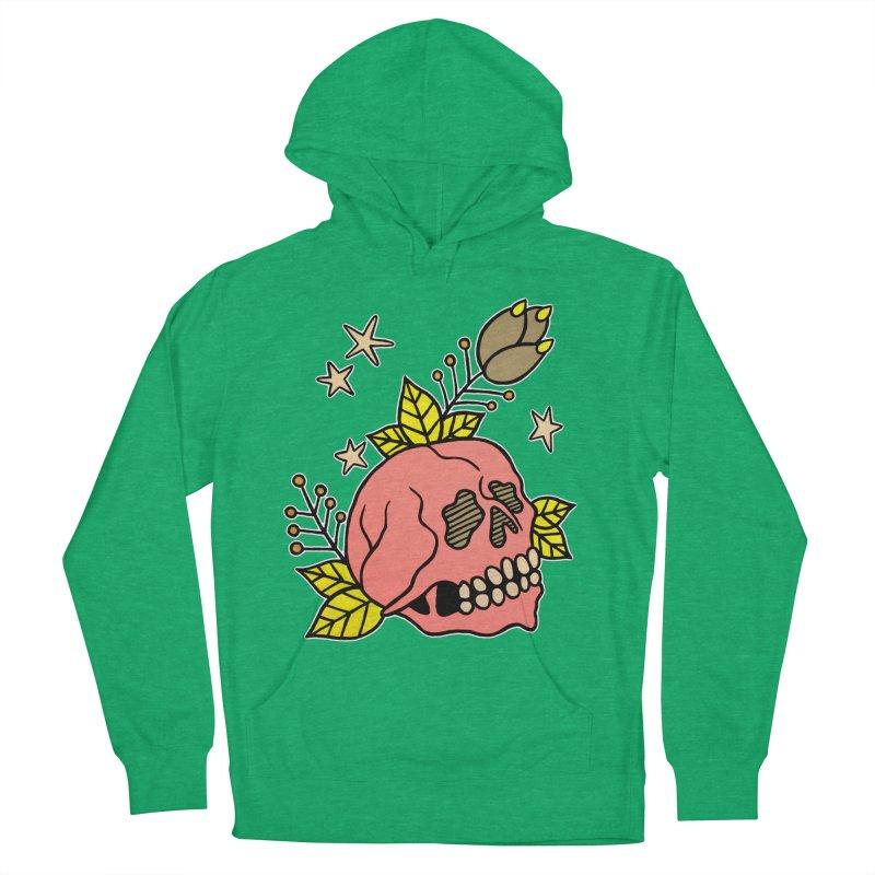 Pink Skull Women's Pullover Hoody by pesst's Artist Shop