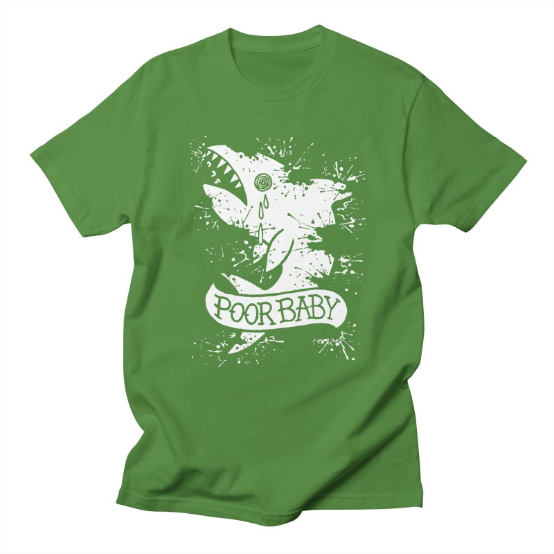 Poor Baby Splatter Shark Women's Regular Unisex T-Shirt by pesst's Artist Shop