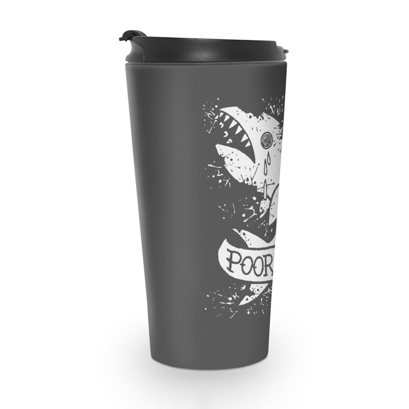 Poor Baby Splatter Shark Accessories Travel Mug by pesst's Artist Shop