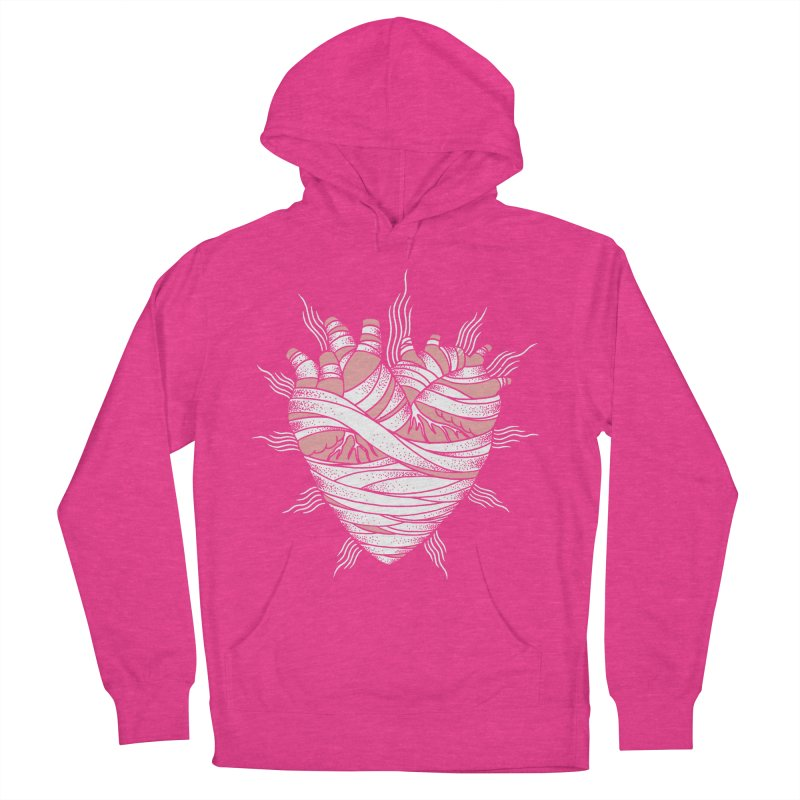 Heart of the Mummy Women's Pullover Hoody by pesst's Artist Shop