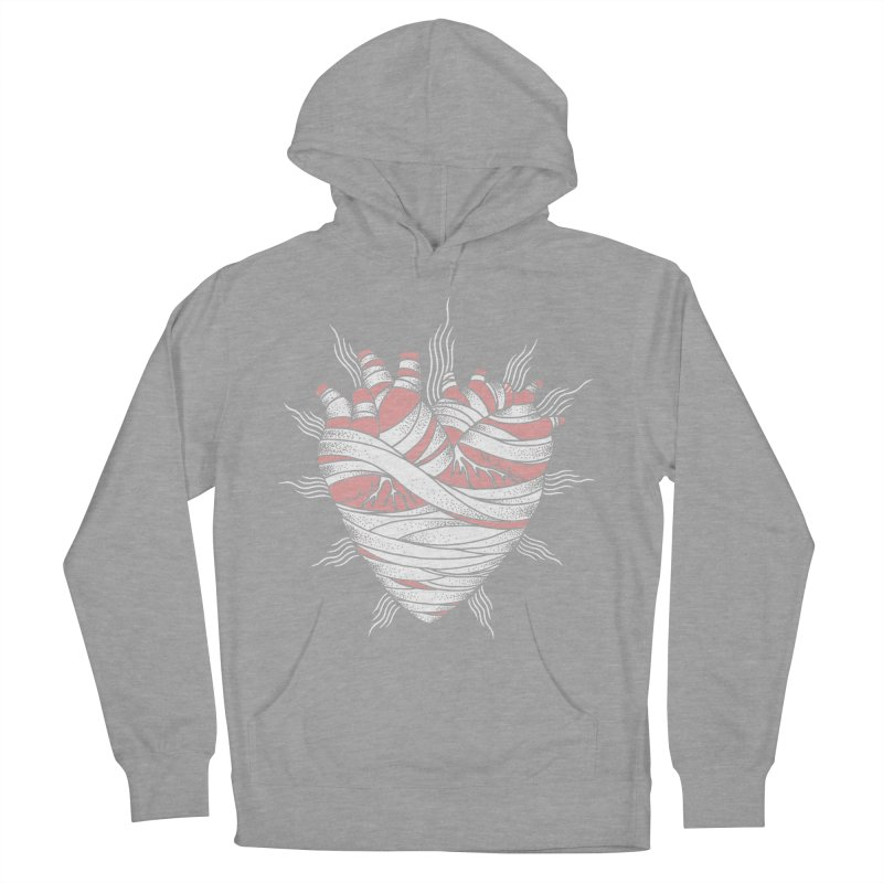 Heart of the Mummy Men's Pullover Hoody by pesst's Artist Shop