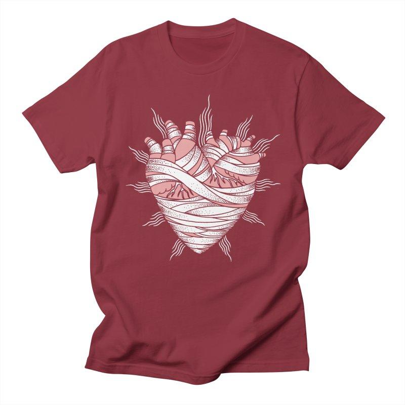 Heart of the Mummy Women's Unisex T-Shirt by pesst's Artist Shop