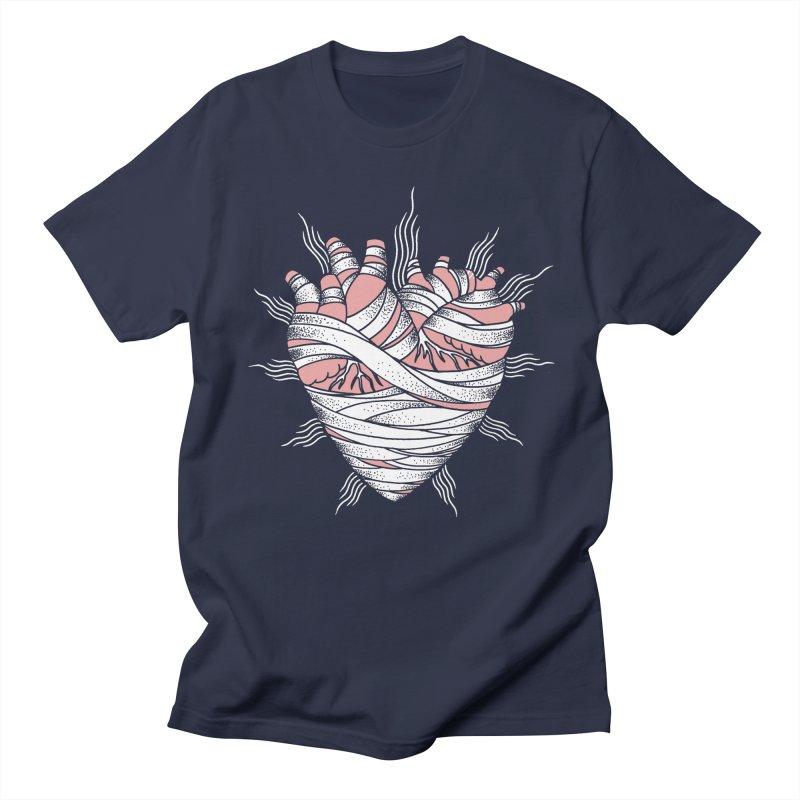 Heart of the Mummy Women's Regular Unisex T-Shirt by pesst's Artist Shop