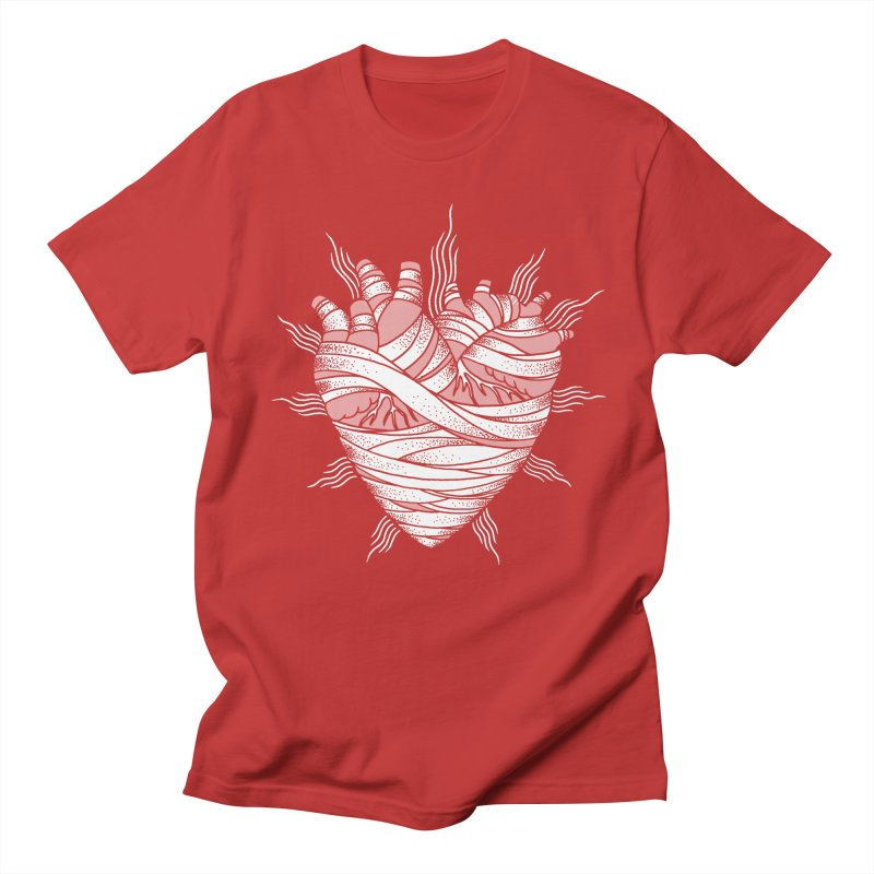 Heart of the Mummy Women's Regular Unisex T-Shirt by pesst's Artist Shop