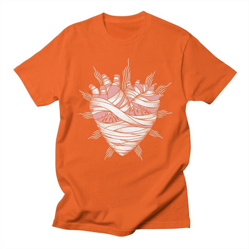 Heart of the Mummy Men's Regular T-Shirt by pesst's Artist Shop