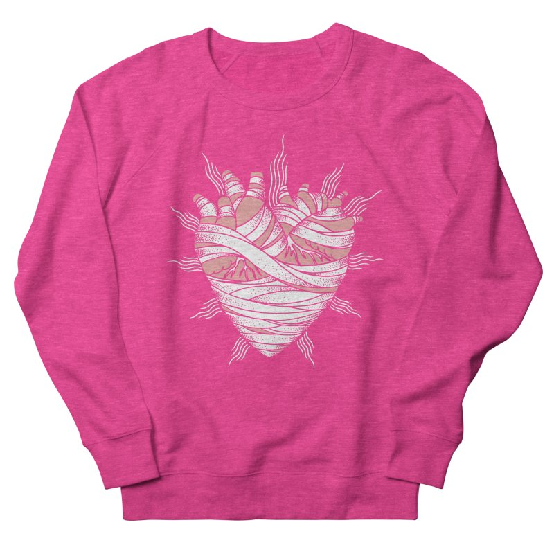 Heart of the Mummy Women's Sweatshirt by pesst's Artist Shop