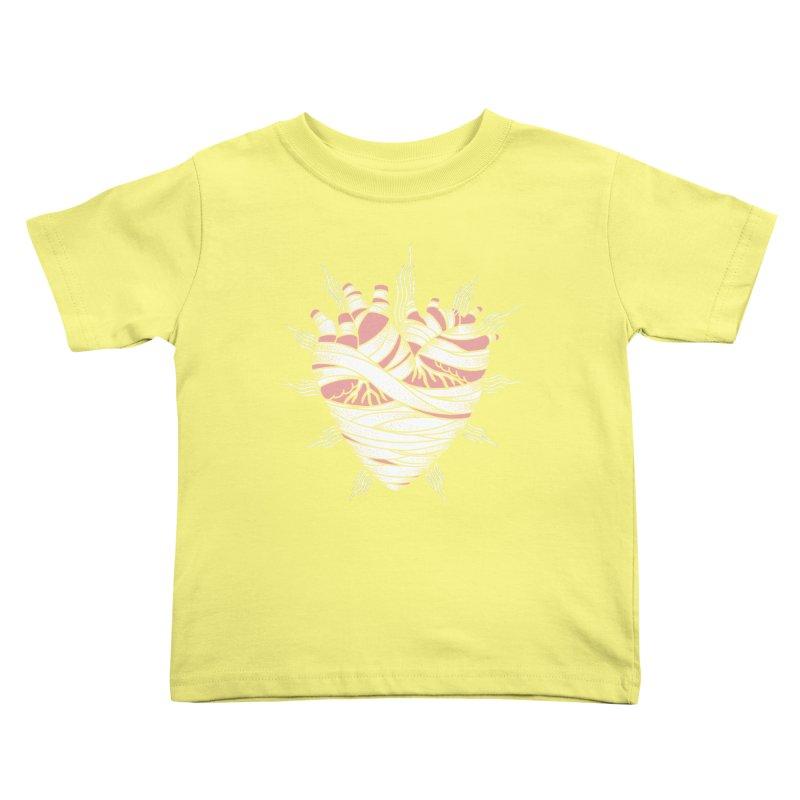 Heart of the Mummy Kids Toddler T-Shirt by pesst's Artist Shop