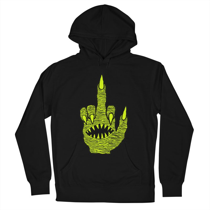 Monster Hand Men's French Terry Pullover Hoody by pesst's Artist Shop
