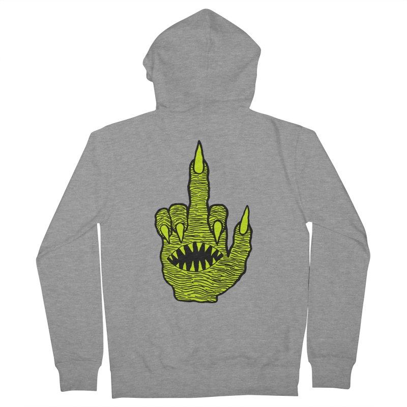 Monster Hand Women's Zip-Up Hoody by pesst's Artist Shop