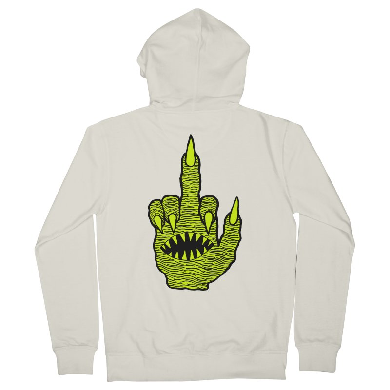 Monster Hand Women's Zip-Up Hoody by pesst's Artist Shop