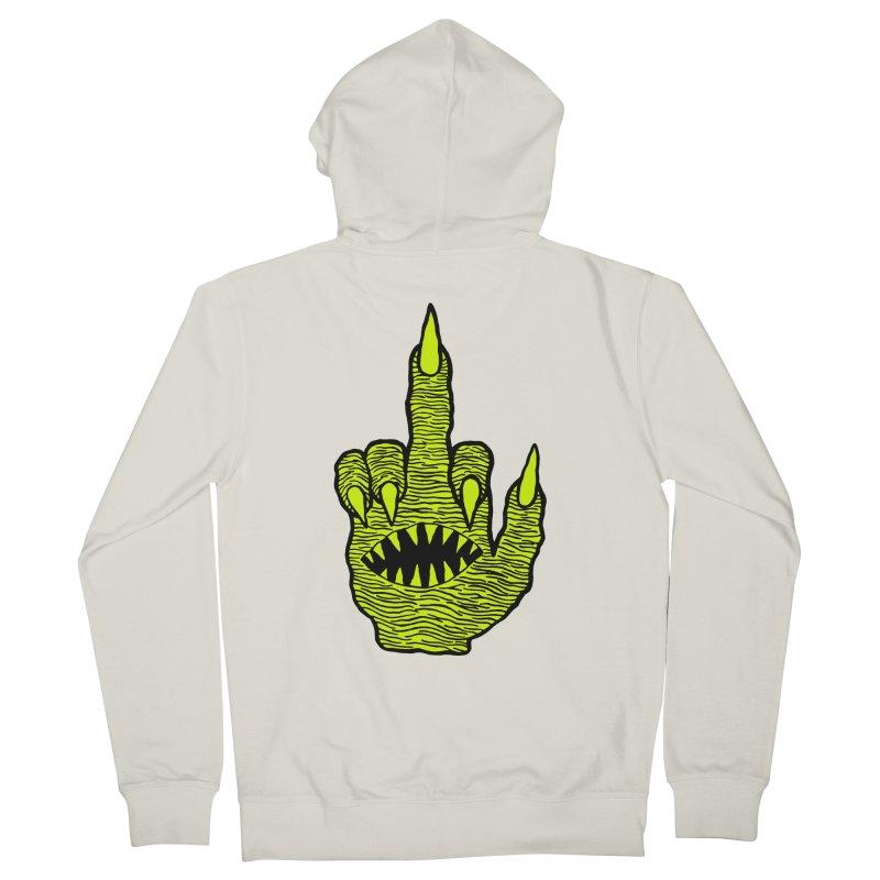 Monster Hand Men's Zip-Up Hoody by pesst's Artist Shop