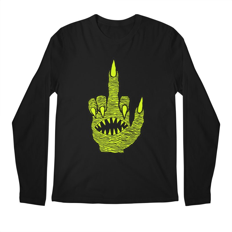 Monster Hand Men's Regular Longsleeve T-Shirt by pesst's Artist Shop