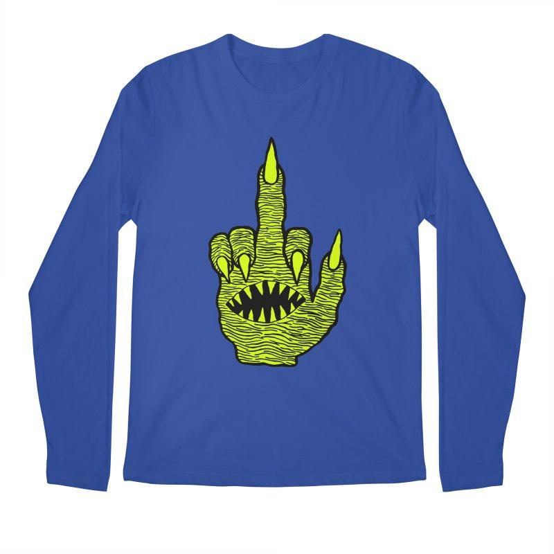 Monster Hand Men's Regular Longsleeve T-Shirt by pesst's Artist Shop