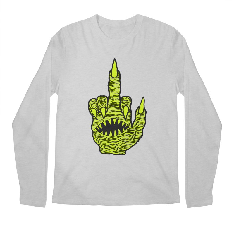 Monster Hand Men's Longsleeve T-Shirt by pesst's Artist Shop