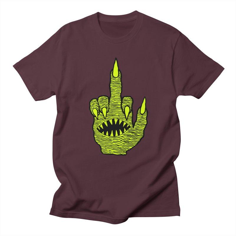 Monster Hand Women's Regular Unisex T-Shirt by pesst's Artist Shop