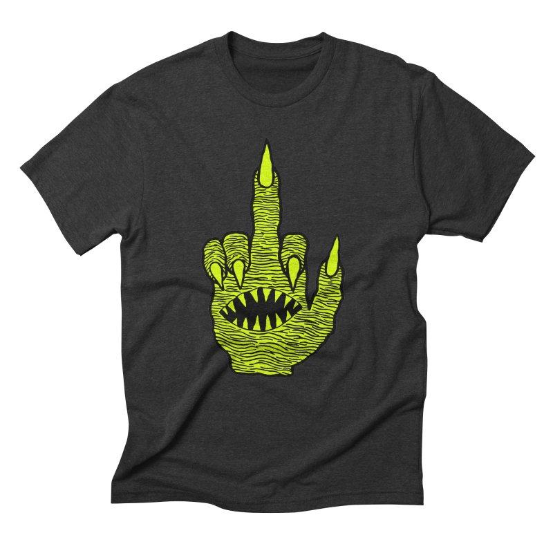 Monster Hand Men's Triblend T-Shirt by pesst's Artist Shop