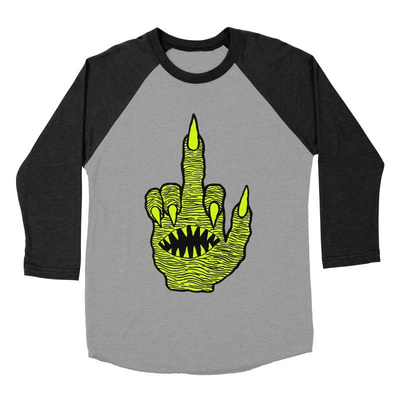 Monster Hand Women's Baseball Triblend Longsleeve T-Shirt by pesst's Artist Shop