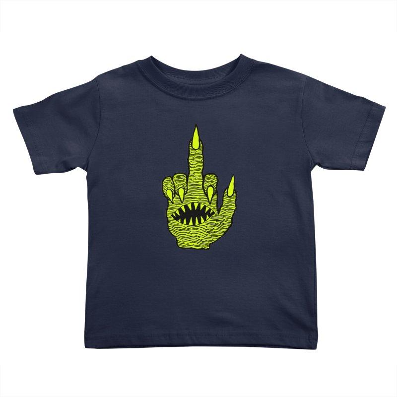 Monster Hand Kids Toddler T-Shirt by pesst's Artist Shop