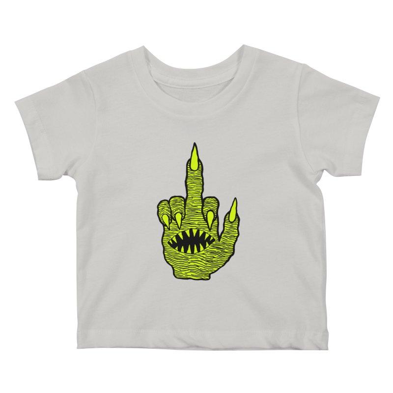 Monster Hand Kids Baby T-Shirt by pesst's Artist Shop