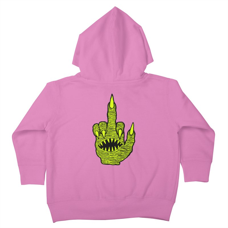 Monster Hand Kids Toddler Zip-Up Hoody by pesst's Artist Shop