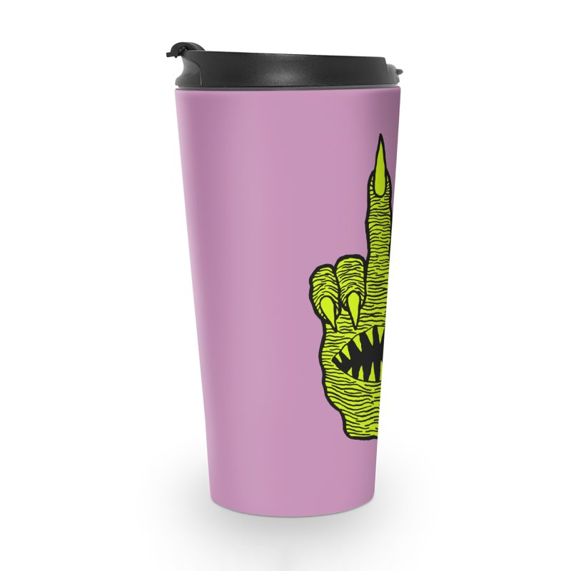 Monster Hand Accessories Travel Mug by pesst's Artist Shop
