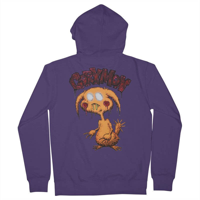 Pikachu's Ugly Sister - Gorymon Women's French Terry Zip-Up Hoody by pesst's Artist Shop