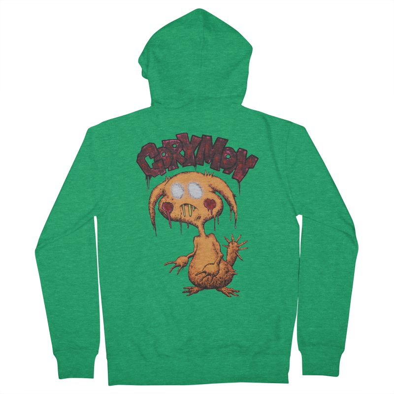 Pikachu's Ugly Sister - Gorymon Men's French Terry Zip-Up Hoody by pesst's Artist Shop