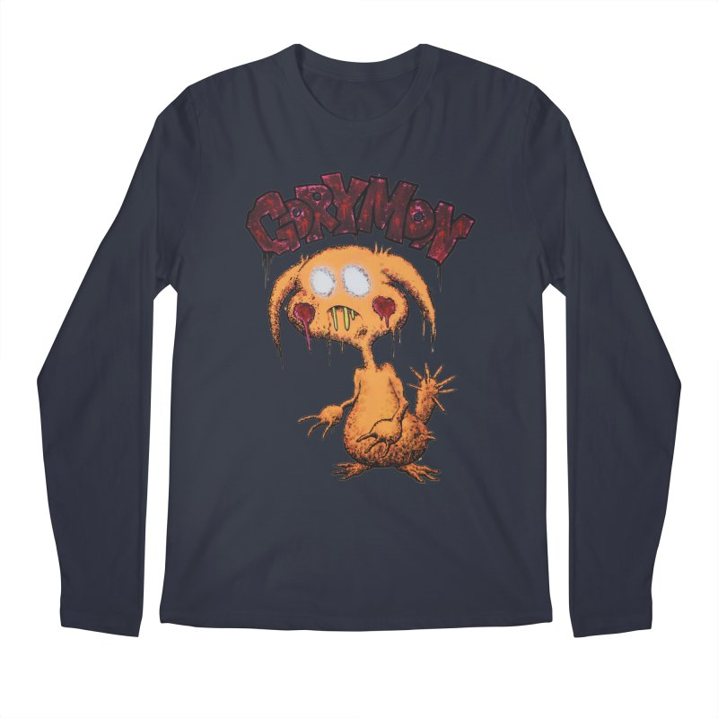 Pikachu's Ugly Sister - Gorymon Men's Regular Longsleeve T-Shirt by pesst's Artist Shop