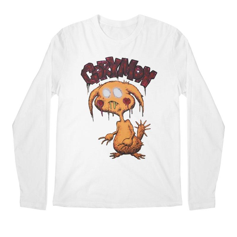 Pikachu's Ugly Sister - Gorymon Men's Regular Longsleeve T-Shirt by pesst's Artist Shop