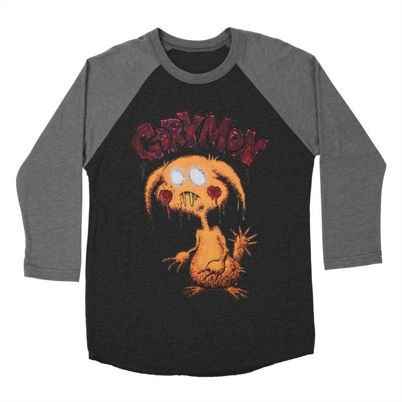 Pikachu's Ugly Sister - Gorymon Men's Baseball Triblend T-Shirt by pesst's Artist Shop
