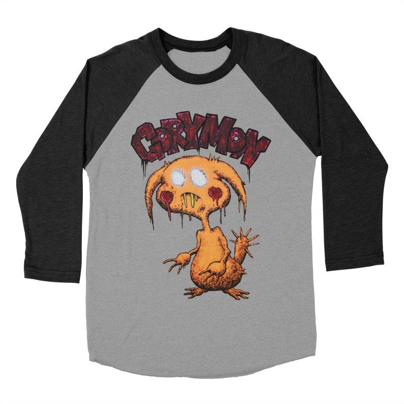 Pikachu's Ugly Sister - Gorymon Men's Baseball Triblend Longsleeve T-Shirt by pesst's Artist Shop
